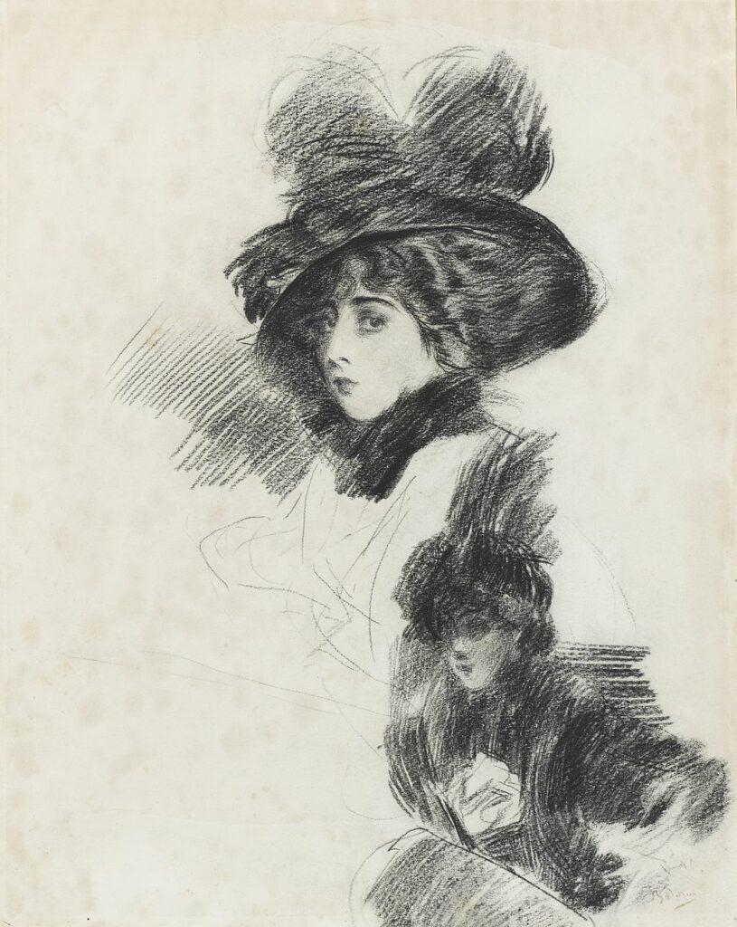 Giovanni Boldini Ritratto femminile