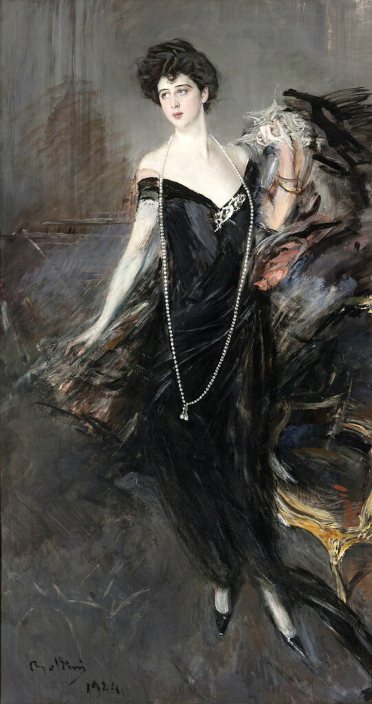 Giovanni Boldini Franca Florio 1924