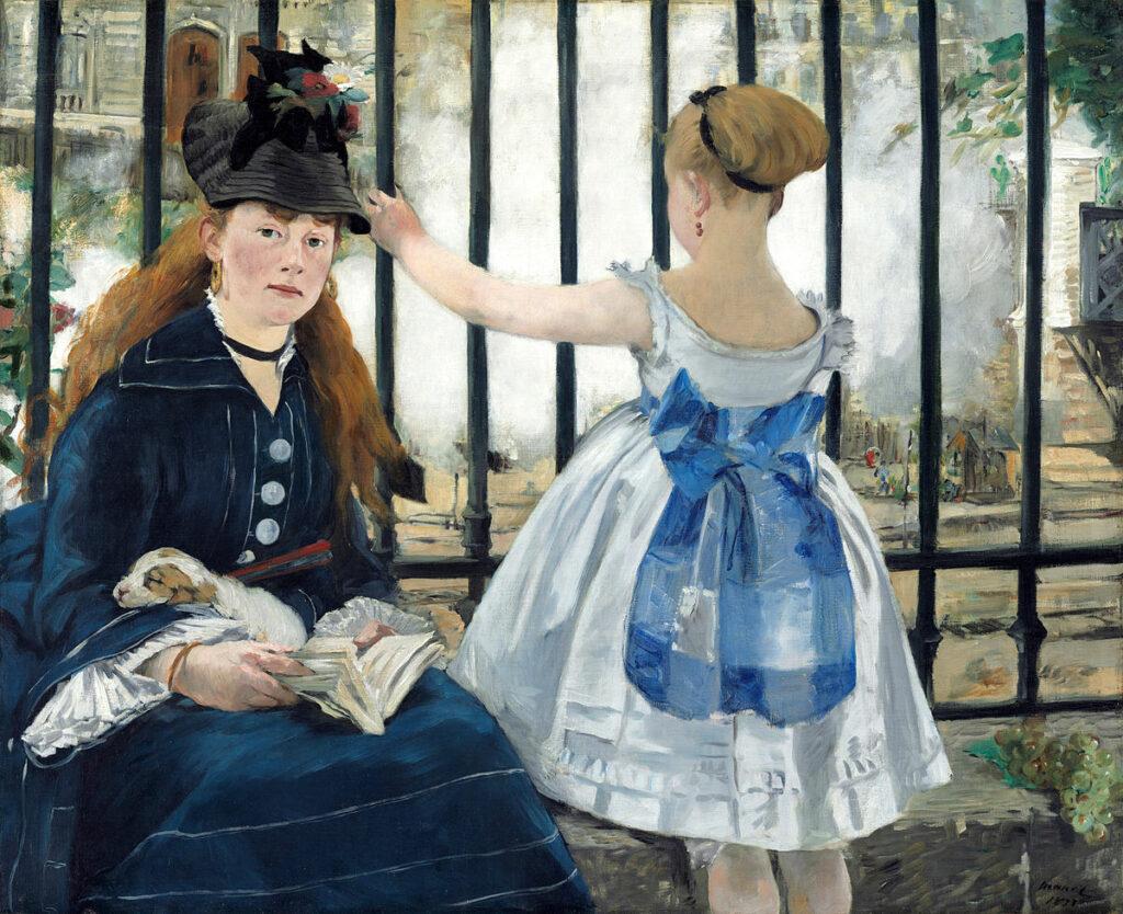 Édouard Manet La ferrovia 1872-1873