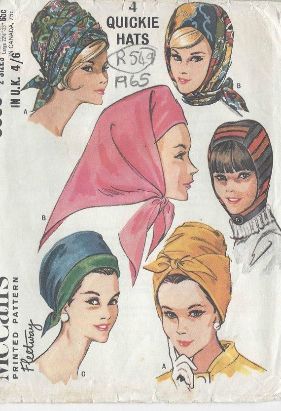 Foulard e copricapi 1965