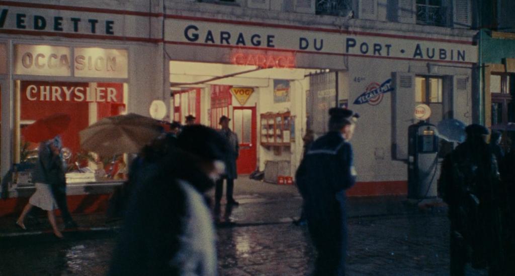 Garage du Port Aubin, Les Parapluies de Cherbourg