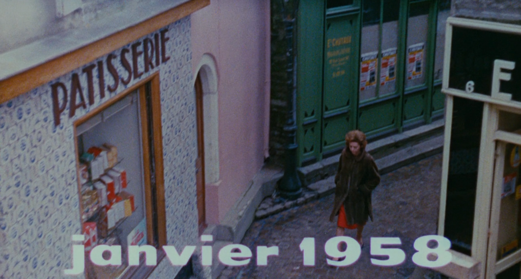 Gennaio 1958 Les Parapluies de Cherbourg