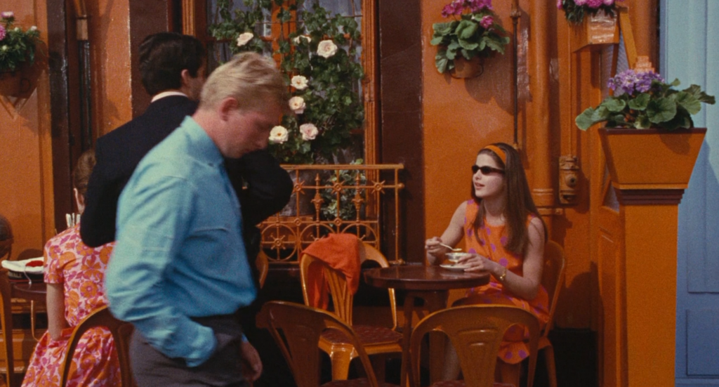Guy e Madelaine al cafè