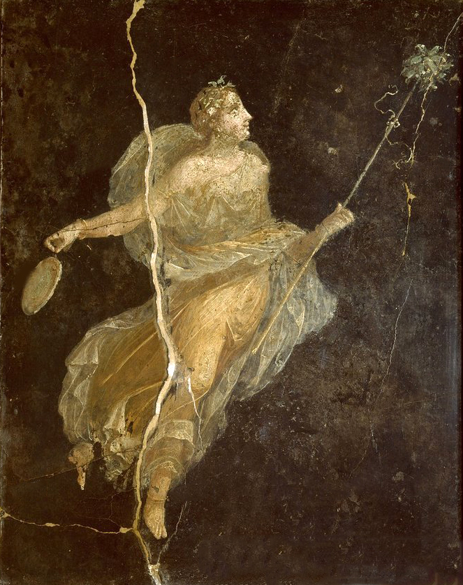Menade danzante Pompei