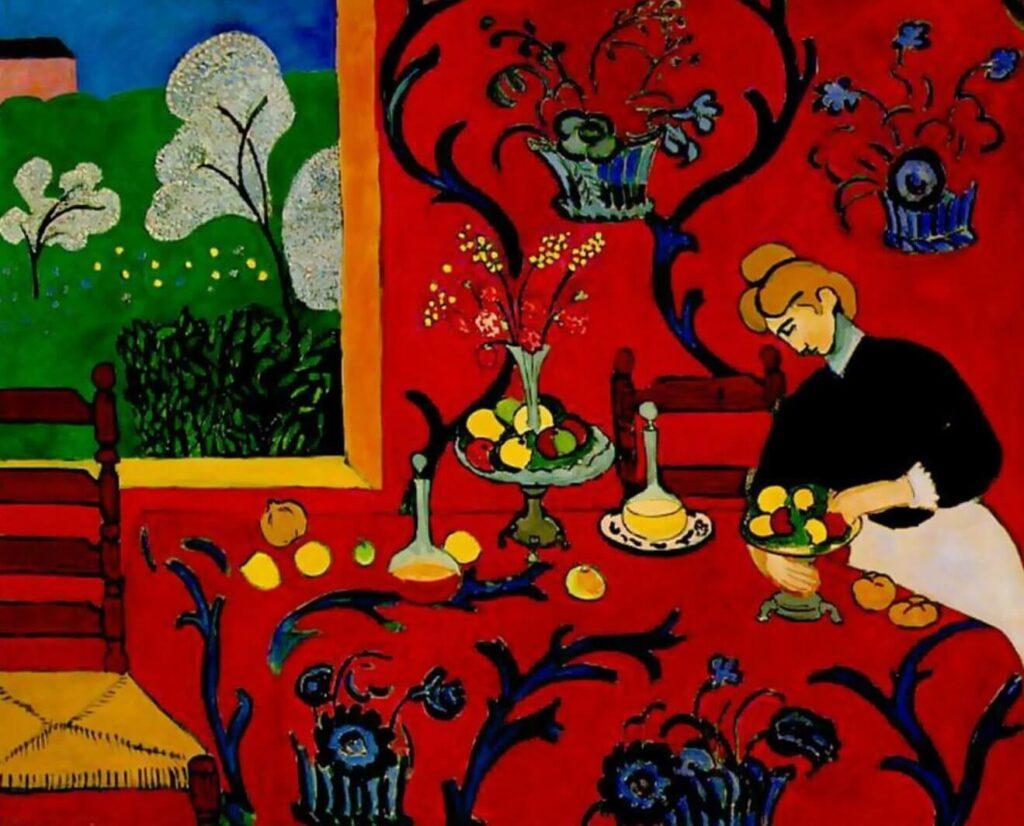 Stanza Rossa Henri Matisse