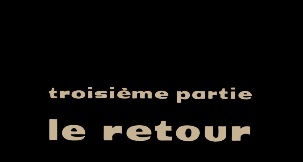 Terza parte Il ritorno Les Parapluies de Cherbourg