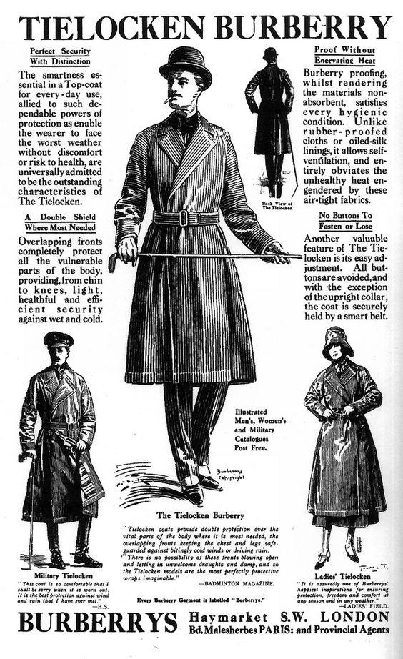 Tielocken Coat Burberry