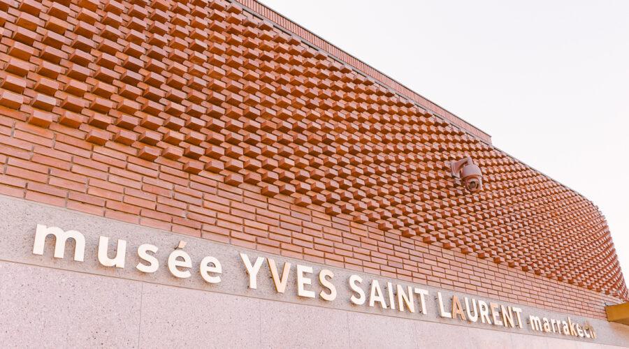 Facciata Museo YSL Marrakech