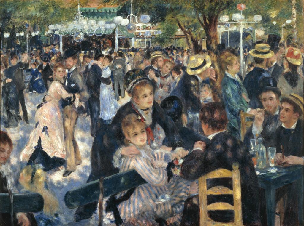 Bal au Moulin de la Galette Renoir