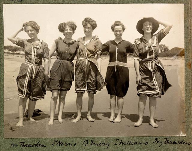 In spiaggia 1908